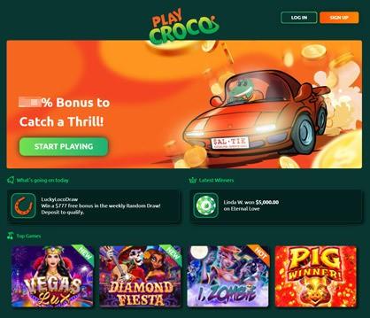 play croco casino homepage