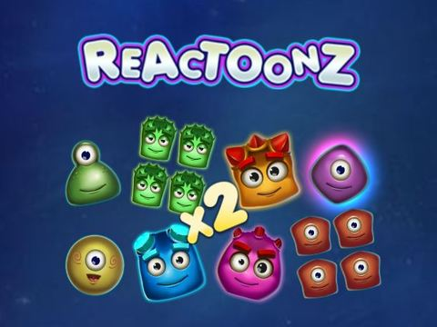 reactoons slot game at casino euro