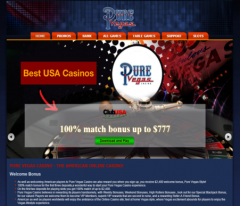 Pure Vegas Casino Review