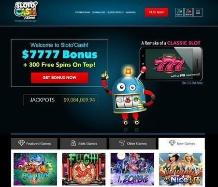 Sloto Cash Casino AU
