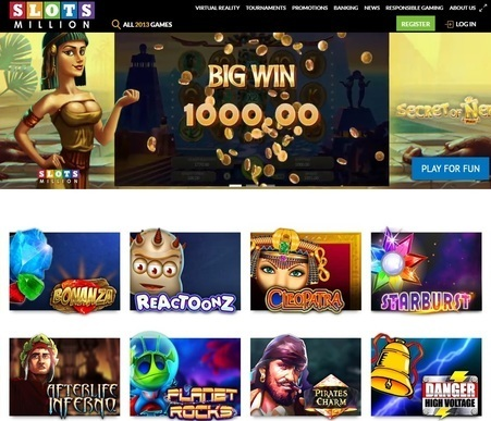 slots million screenshot