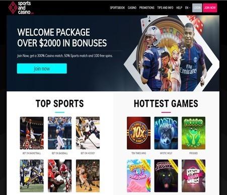 review of sportsandcasino.com